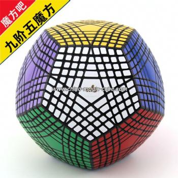 <Free Shipping> MF8 Petaminx Black (un-stickered) Magic Cube Puzzles Toy