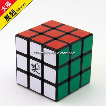 <Free Shipping> Dayan V zhanchi 3x3x3 50mm Black Multicolor cube speed cube Puzzle Educational Toy Special Toys
