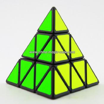 ShengShou Pyraminx black speed-cubing  Rubikeds Magic Cube( CS Stickers)