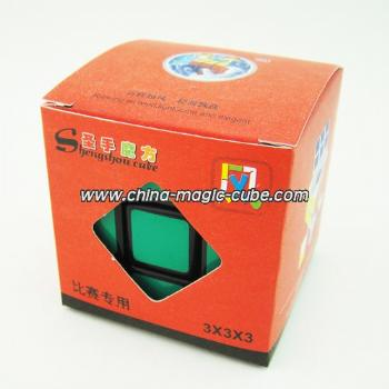 <Free Shipping>ShengShou 3x3x3 Wind Magic Cube Rubik's Cube Black