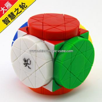 <Free Shipping>DaYan puzzle Wheels of Wisdom stickerless version