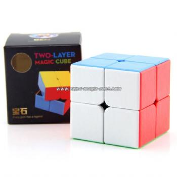 Shengshou GEM Speedcubing 2x2 Magic Cube Puzzle Toys for Competition Challenge - Colorful