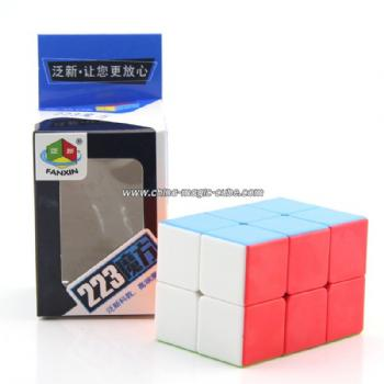 FanXin 2x2x3 Magic Cube Puzzle Brain Teaser Toys - Colorful