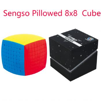 Sengso Pillowed 8x8 Magic Puzzle Cube Professional ShengShou 8x8 Bread Speed Cubo magico Speed Cube Educational Toys