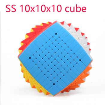 Shengshou 10x10x10 Speed Cube Stickerless 85mm professional Cubo Magico high level Toys for Children