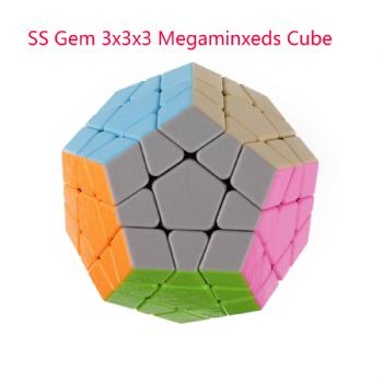 ShengShou Gem 3x3x3 Megaminxeds Magic Cube SengSo 3x3 Dodecahedron Speed Puzzle Antistress Educational Toys For Children