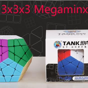 ShengShou Tank 3x3x3 Megaminxeds Magic Cube SengSo 3x3 Professional Neo Speed Cube Puzzle Antistress Toys For Children